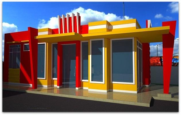 Biaya Bangun Ruko 1 Lantai Sederhana Desain Modern Jasa Renovasi Rumah Solo 0857 0832 5319 Borongan Kontraktor